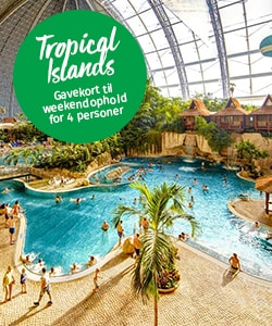 Tropical Islands vind ophold